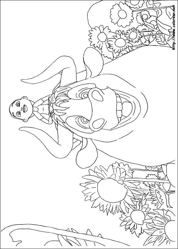 Dibujos para colorear de Ferdinand