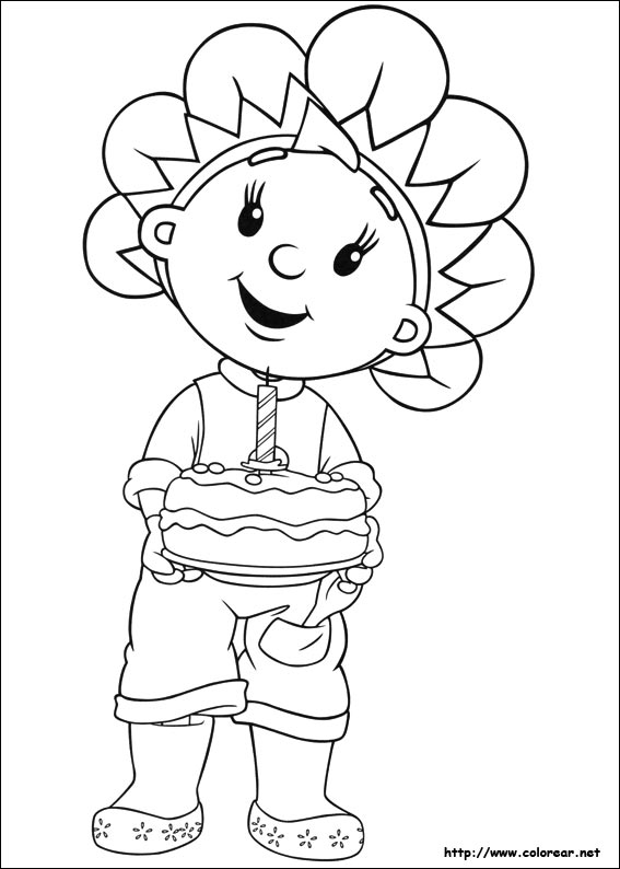fifi coloring pages - photo#13