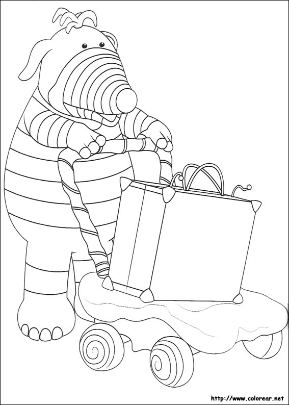 Dibujos para colorear de los fimbles - Dessin de valise ...