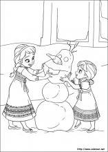 Dibujos De Frozen El Reino Del Hielo Para Colorear En Colorear Net