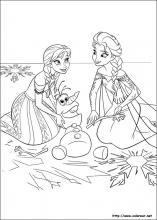 Dibujos De Frozen El Reino Del Hielo Para Colorear En