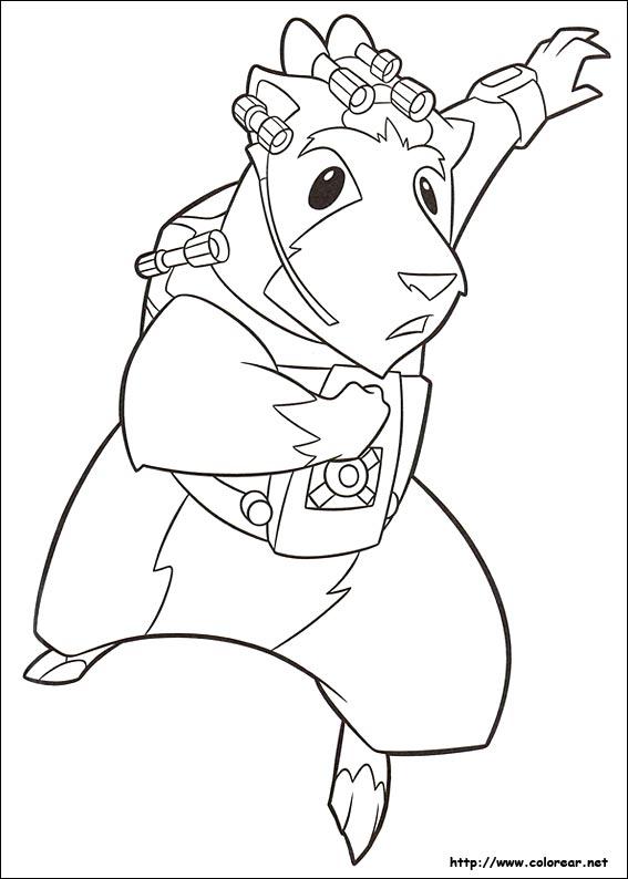 Dibujos para colorear de G-Force