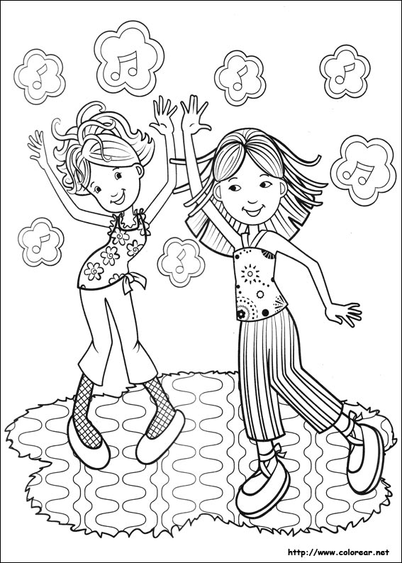 Dibujos Para Colorear De Groovy Girls Groovy Coloring Pages Free Free
