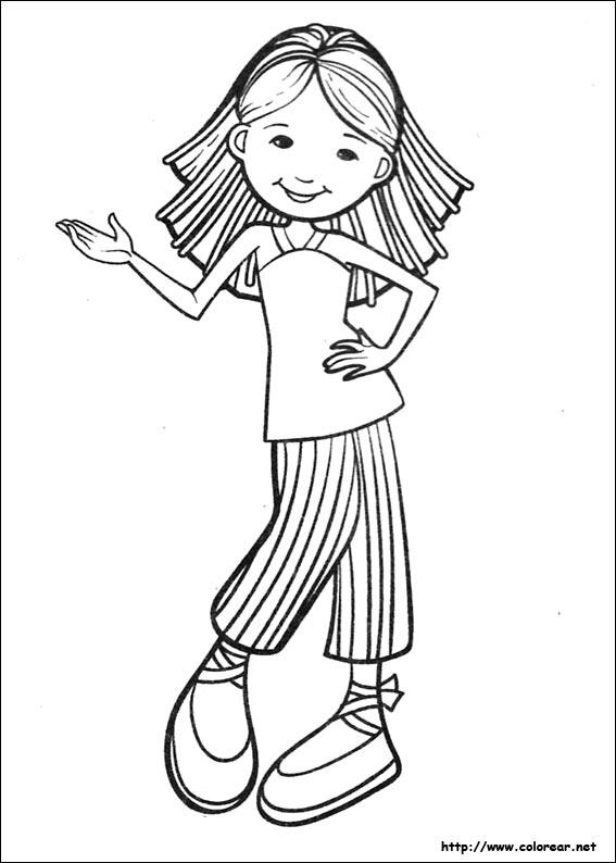 Dibujos Para Colorear De Groovy Girls