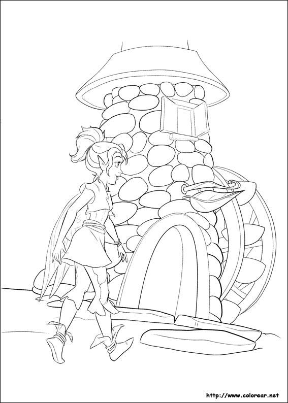 hadas y piratas silver mist coloring pages - photo #23