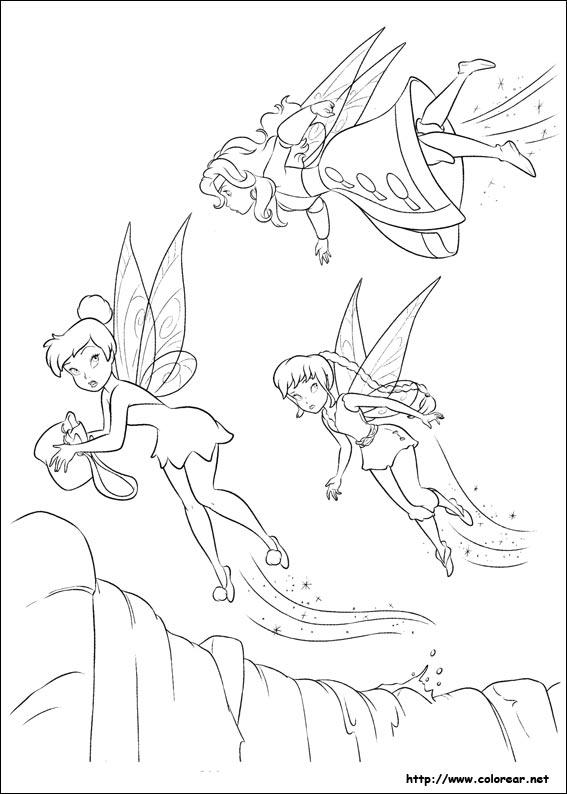 hadas y piratas silver mist coloring pages - photo #34
