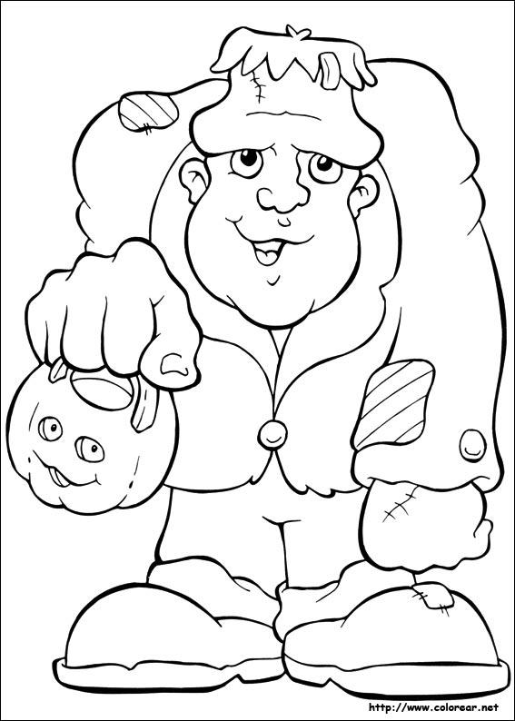 Dibujos de Halloween para colorear en Colorear.net