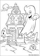 Dibujos De Halloween Para Colorear En Colorearnet