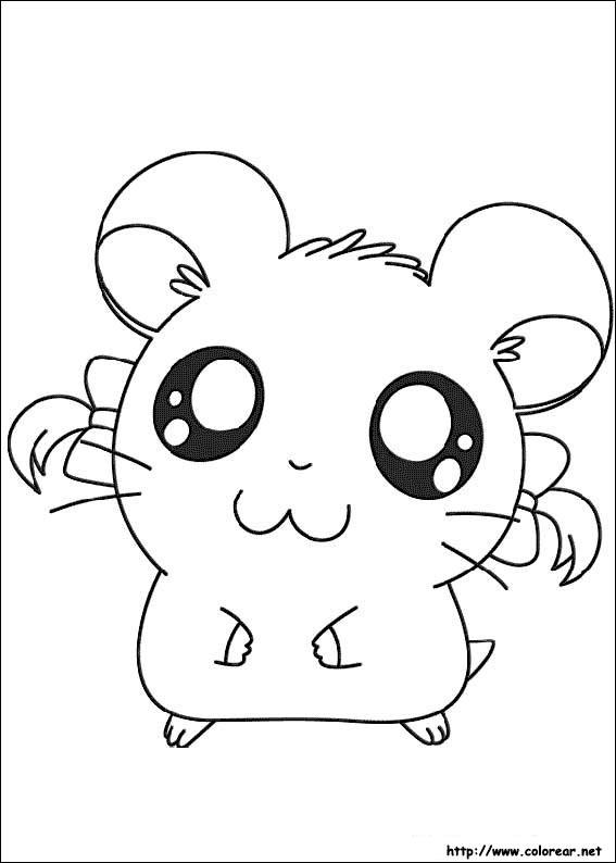 Dibujos para colorear de Hamtaro