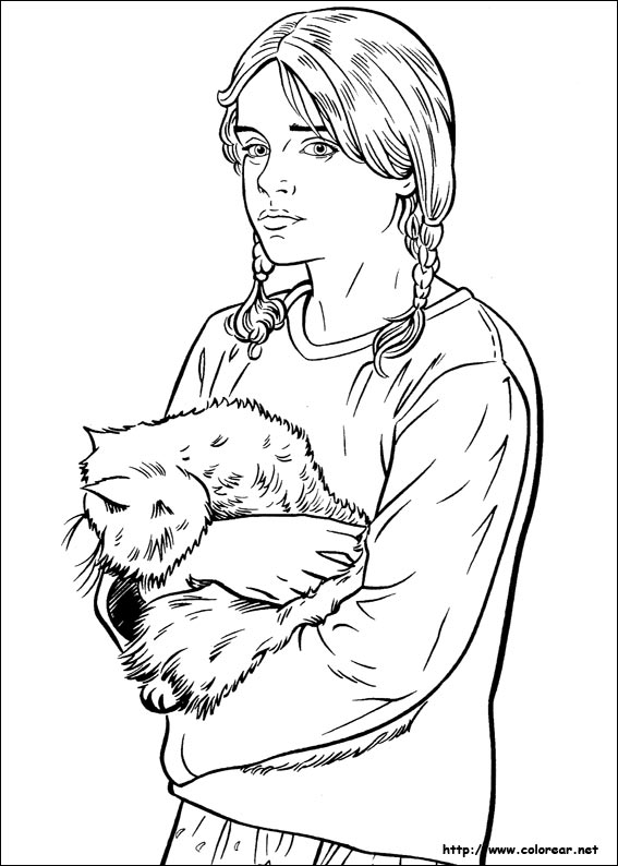 ginny weasley coloring pages - free coloring pages of ginny weasley
