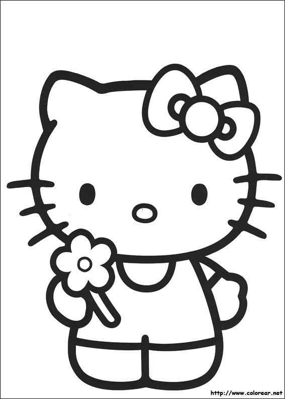 Dibujos De Para Colorear Hello Kitty