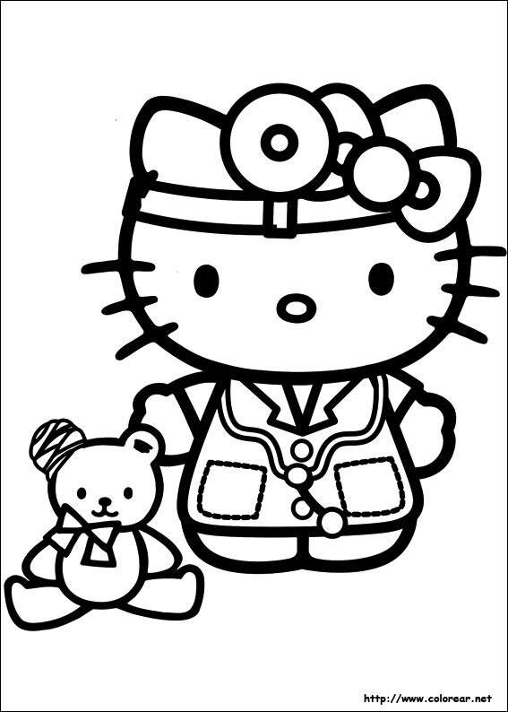 hello kitty ausmal bilder