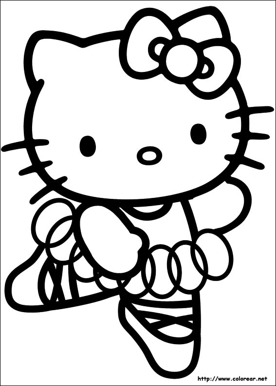dibujos de hello kitty volver a la categoria hello kitty
