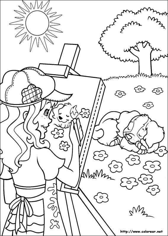 Dibujos Para Colorear De Holly Hobbie