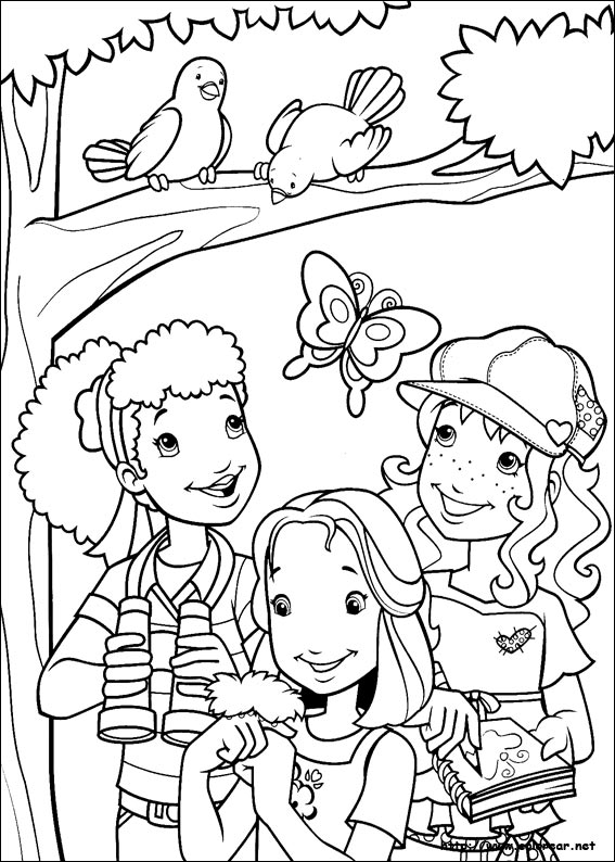 Maestra de infantil holly hobbie dibujos para colorear for Holly hobbie coloring pages