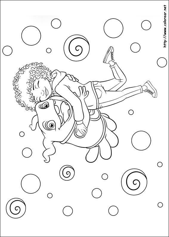 Dibujo De Home Boov Oh Para Colorear Dibujos Net