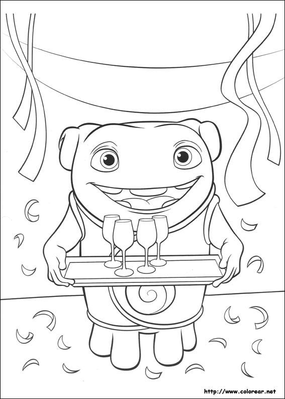 Dibujos Para Colorear De Home Hogar Dulce Hogar
