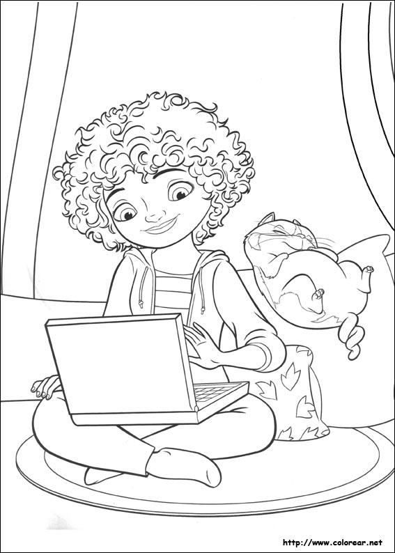 Dibujos para colorear de Home : hogar dulce hogar