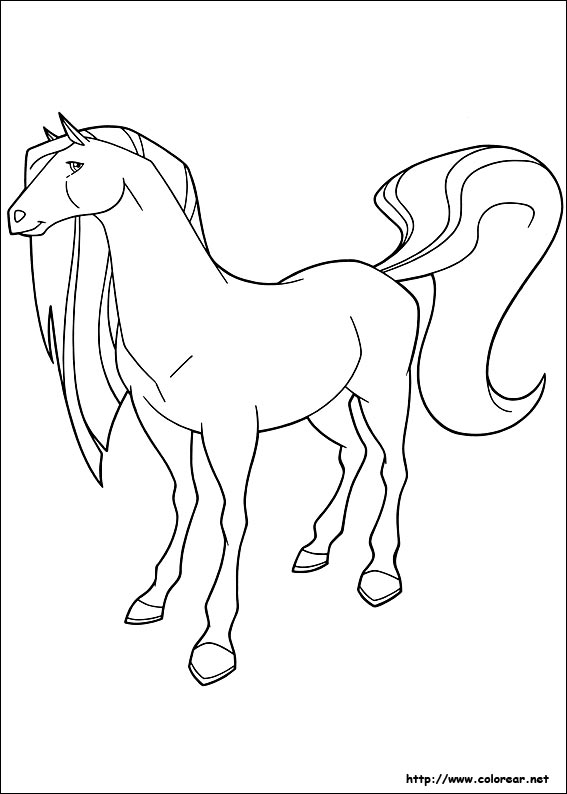 Free Coloring Pages Of Pepper Horseland