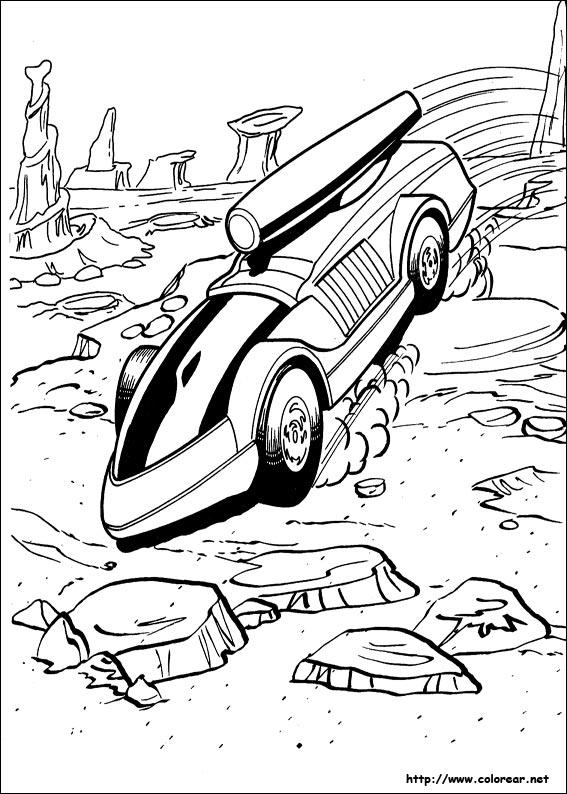 Dibujos de Hot Wheels para colorear en Colorear.net