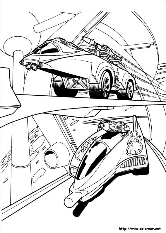 Dibujos De Hot Wheels Para Colorear En Colorear Net