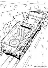 Dibujos De Hot Wheels Para Colorear