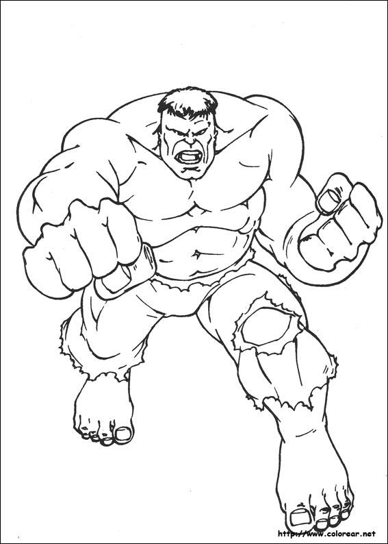 Dibujos para colorear de hulk vs la mole - Imagui