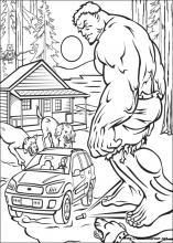 Dibujos De Hulk Para Colorear En Colorearnet