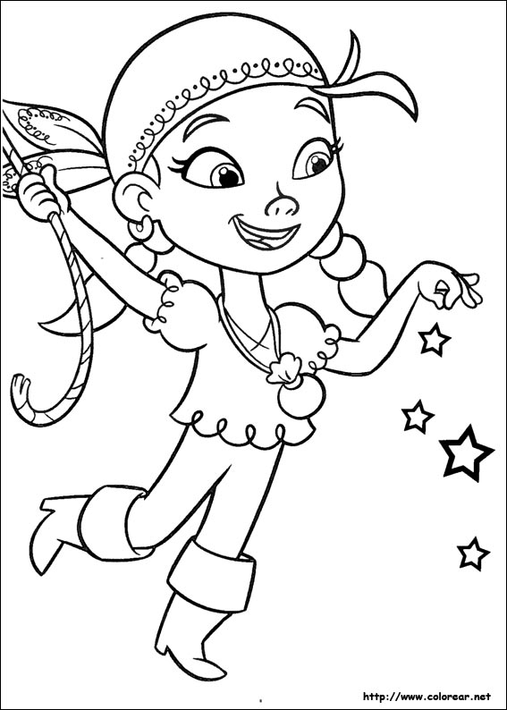 Jake and Neverland Pirates Coloring Pages