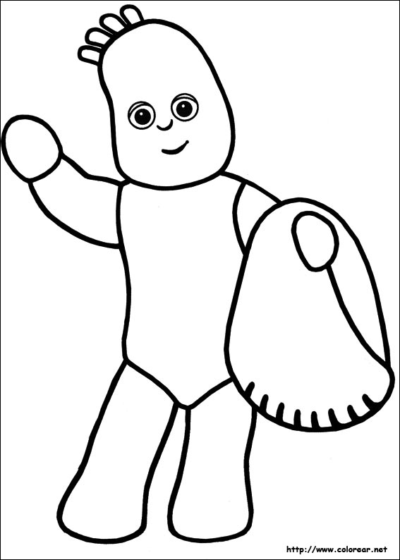 garden coloring pages characters - photo#32