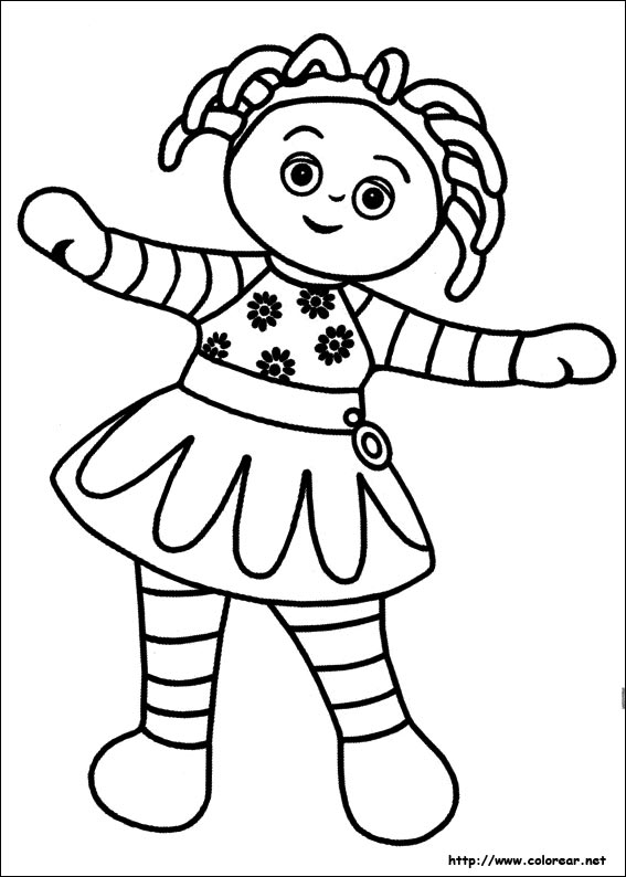 garden coloring pages characters - photo#28