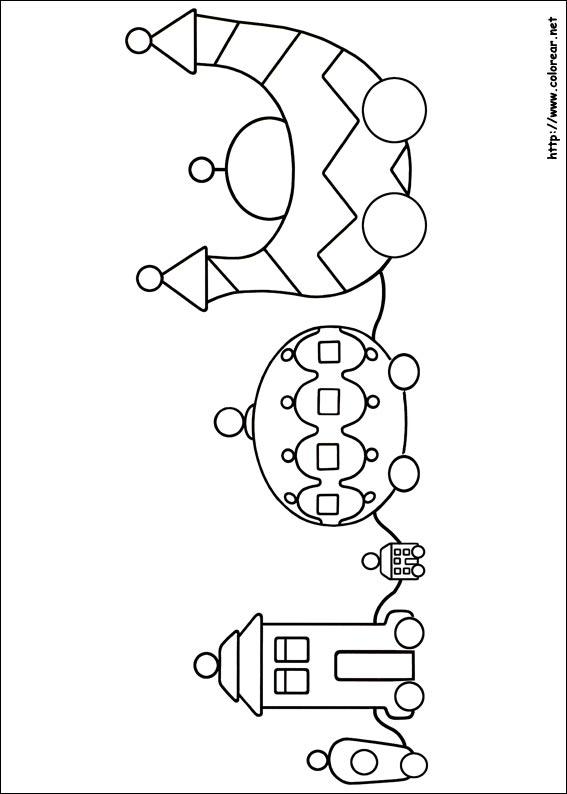 Dibujos Para Colorear De El Jardin De Los Suenos