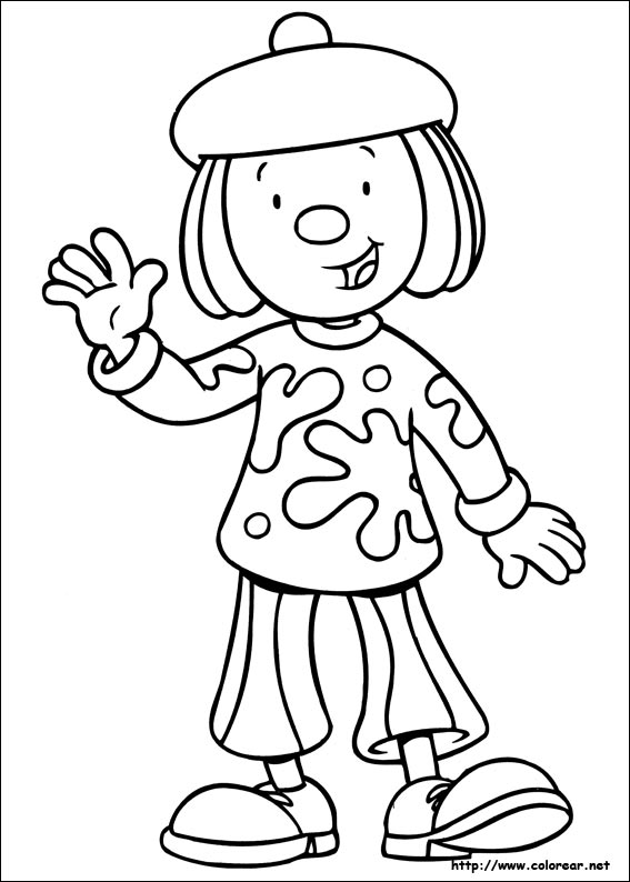 Dibujos de Jojo Circus para colorear en Colorear.net