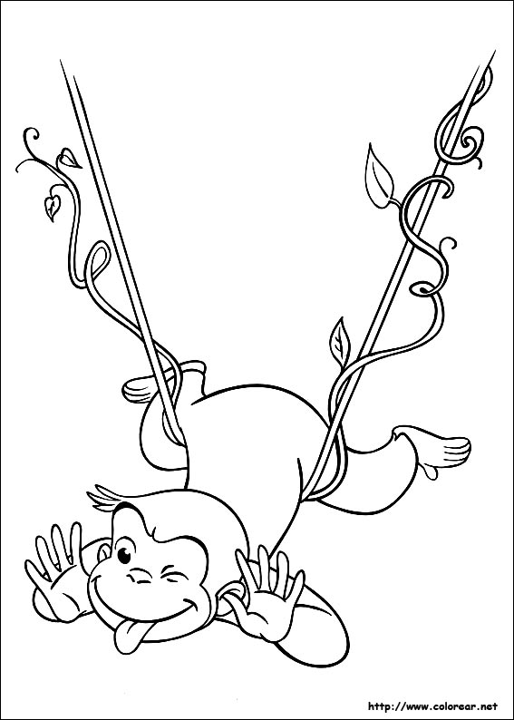 curious george coloring pages photosynthesis - photo#14