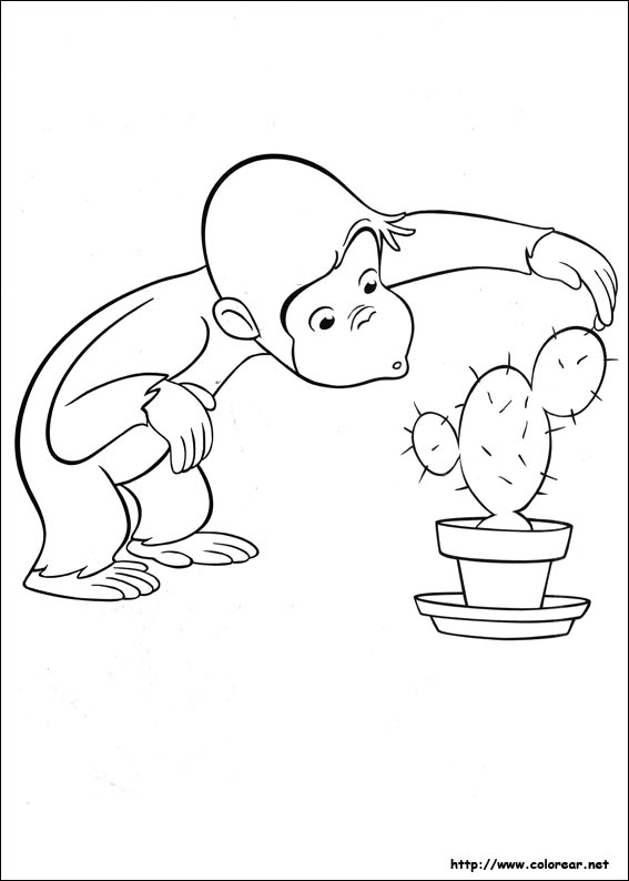 curious george coloring pages photosynthesis - photo#16