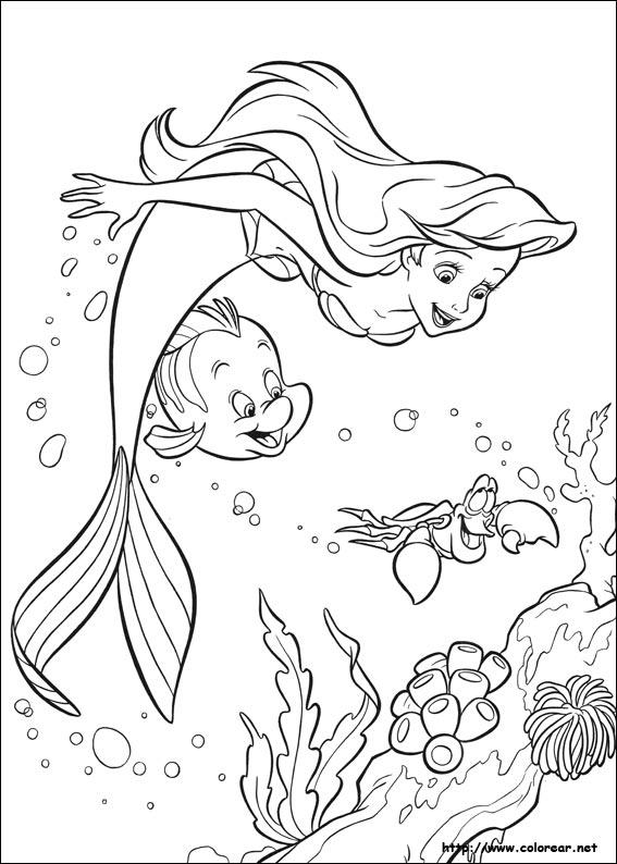 Dibujos de La Sirenita