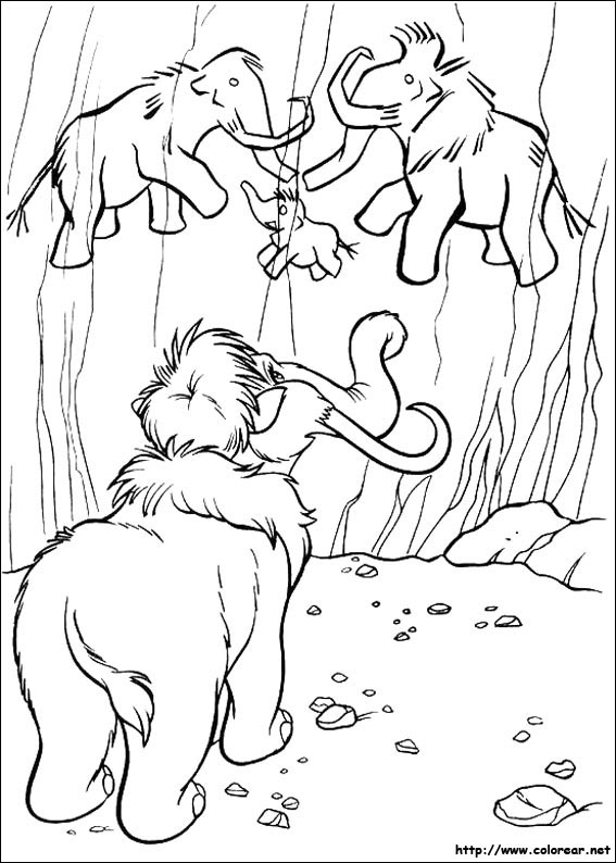 Dibujos de La edad de Hielo para colorear en Colorear.net