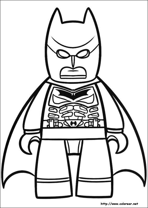 Dibujos De Lego Batman Para Imprimir - ARCHIDEV