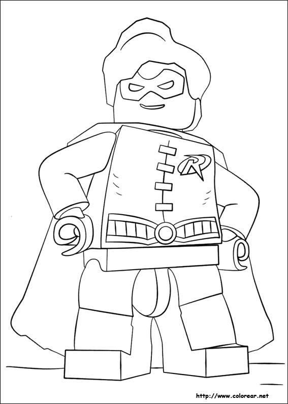 Dibujos de Lego Batman para colorear en Colorear.net