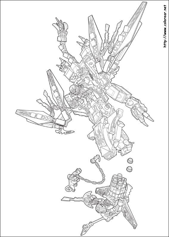Dibujos para colorear de lego ninjago - Lego ninjago nouvelle saison ...