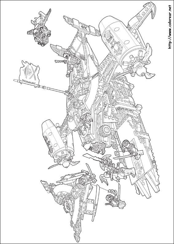 Dibujos para colorear de lego ninjago - Dessin de ninjago a imprimer ...
