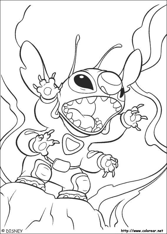 Cute Toothless And Stitch Coloring Pages Coloring Pages