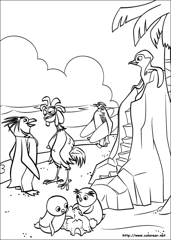 free surfs up coloring pages - photo#12