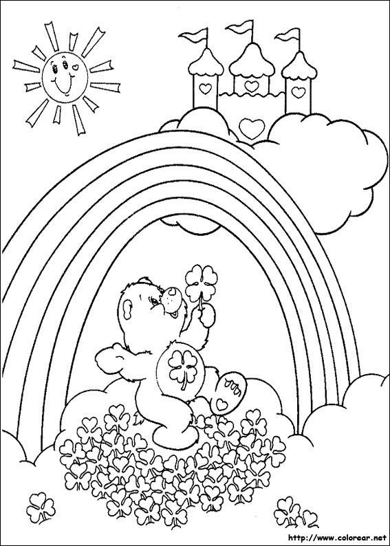 Dibujos para colorear de los osos amorosos for Imagenes de cuadros abstractos para colorear