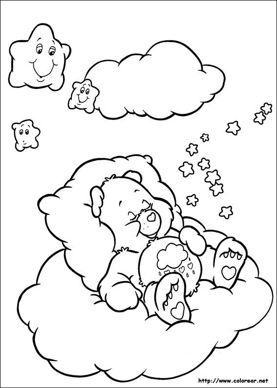 Dibujos de Los Osos Amorosos para colorear en Colorear.net