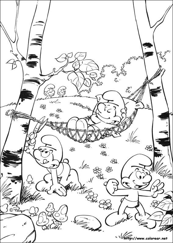 Dibujos De Los Pitufos Volver A La Categoria Los Pitufos