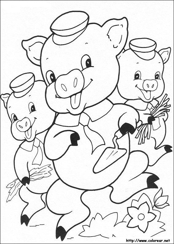 dibujos de los tres cochinitos volver a la categoria los tres
