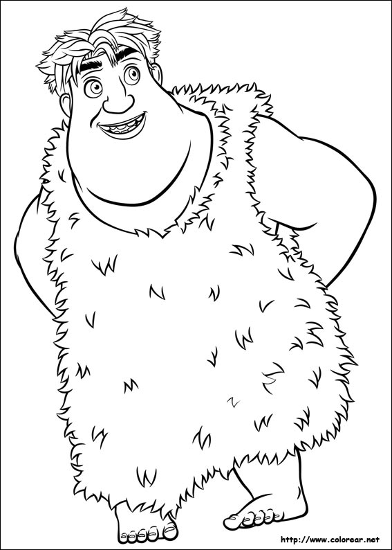 the croods tiger coloring pages - photo#32