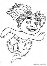 Dibujos De Los Croods Para Colorear En Colorearnet