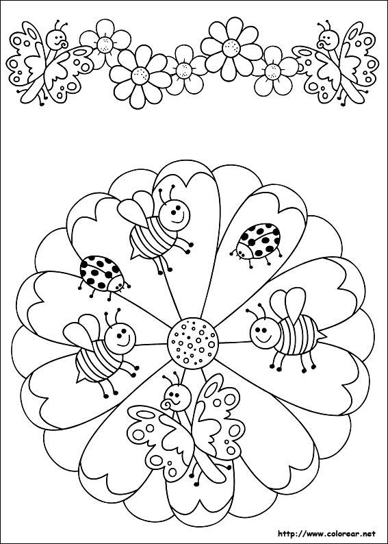 Dibujos De Mandalas Para Colorear En Colorearnet